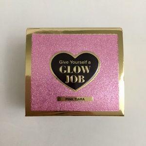 Too Faced Glow Job Pink Tiara Glitter Face Mask